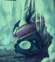 Greninja for Zhoid- PokemonDaily 2013 Secret Santa by Amphibizzy