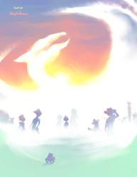 Light Dragon, New World by Amphibizzy