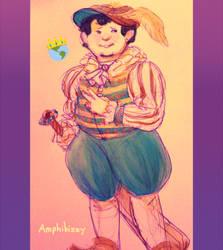 Prince Ness by Amphibizzy