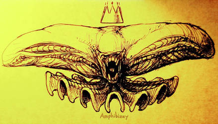 Xenomorph King of all Cosmos by Amphibizzy