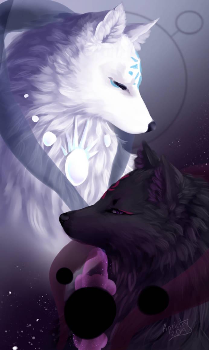 Yuri and Yami by LunarApricity