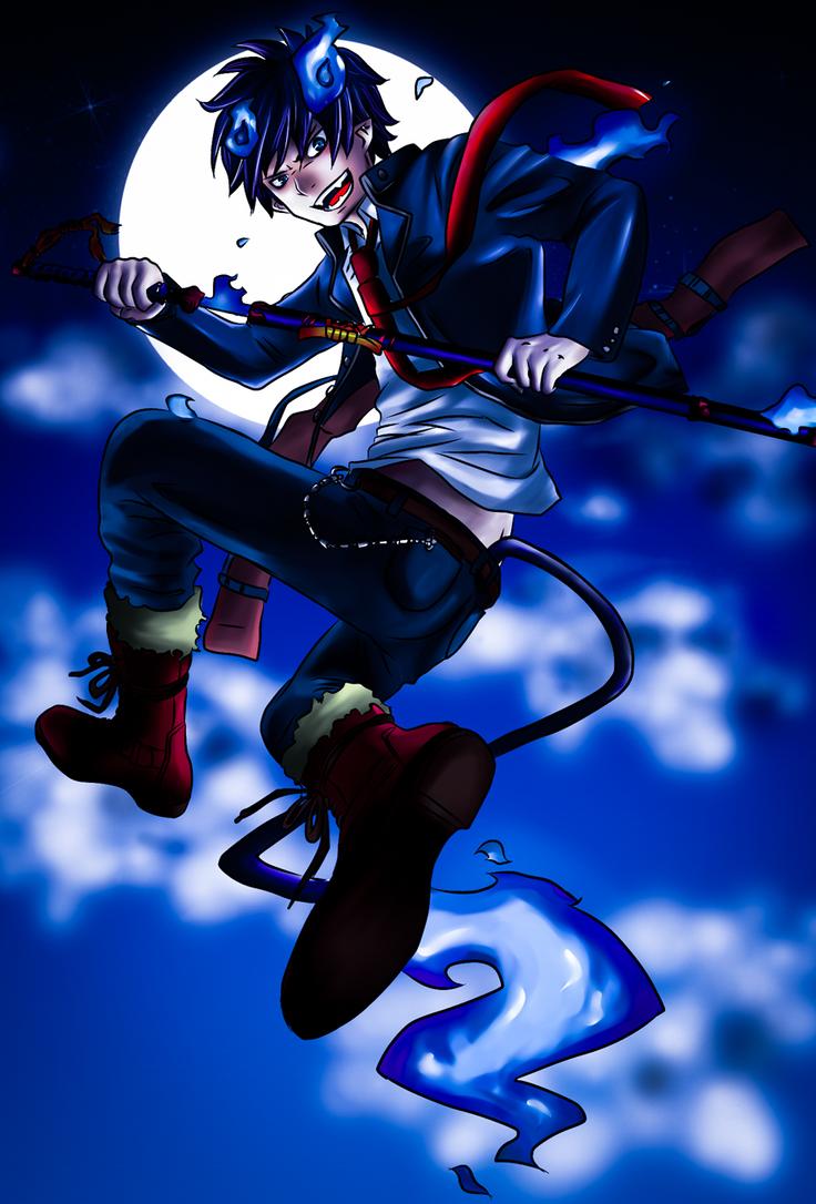 Ao No Exorcist - Rin Okumura by janashlley09