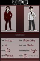 Shadow City- Job App: Hannibal by xDragonMuffins