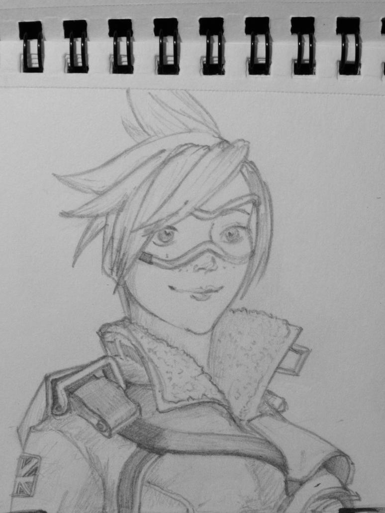 Tracer - Sketch by catarinasbm