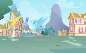 Princess Jeremy Sparkle in Ponyville by Violet2001