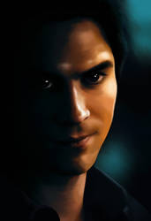 Damon Salvatore - digital by TomsGG
