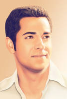 Zachary Levi - smiling by TomsGG
