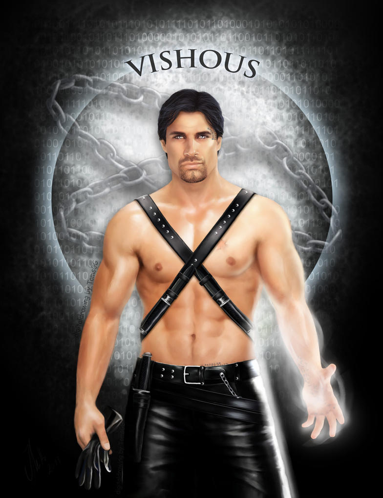 Vampire Book Cover Art : Vishous bdb by tomsgg on deviantart
