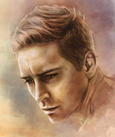 Lee Pace - digitaldrawing by TomsGG