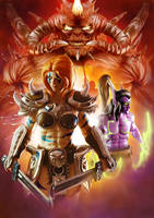 Heroes of the Storm: Enter to Battle by Artejaol