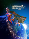 Superman on Christmas