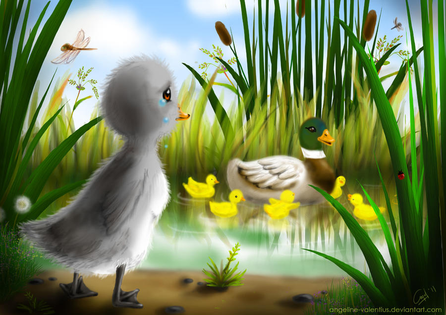 the ugly duckling by angeline-valentius