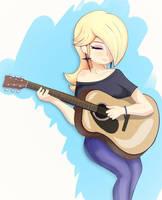 Guitarist Rosalina by nin10ja