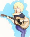 Guitarist Rosalina