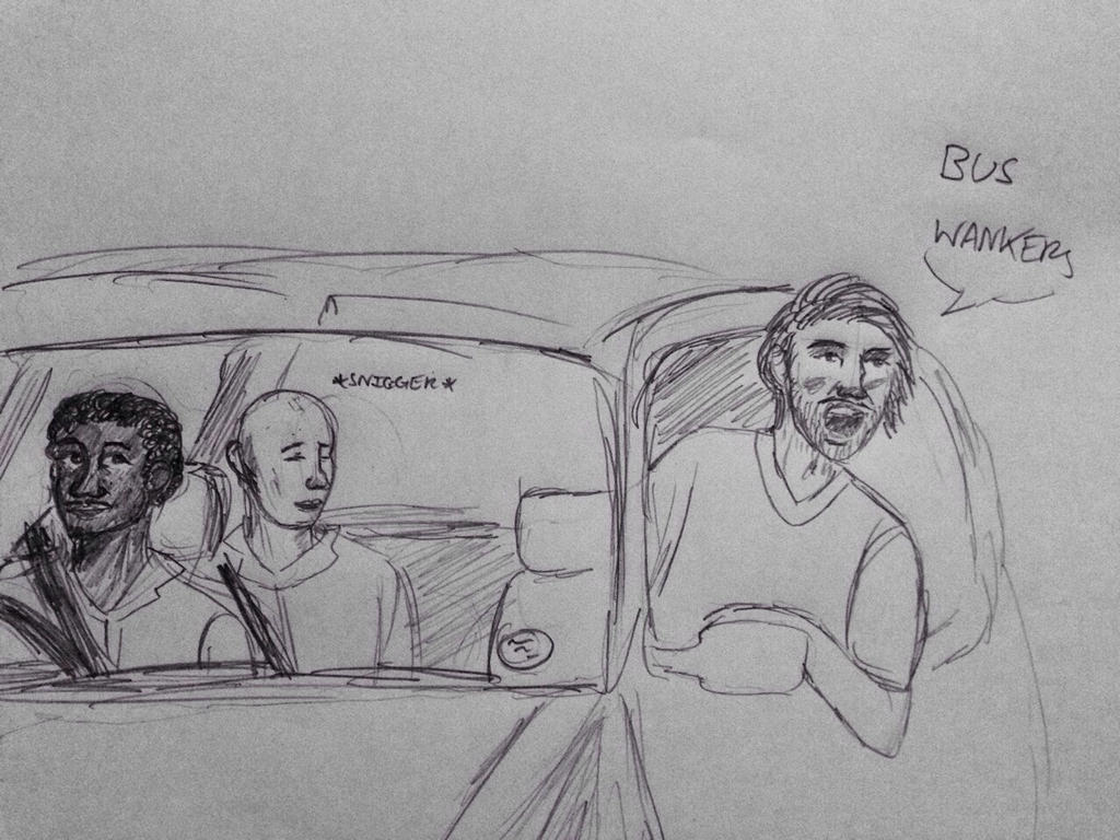 BUS WANKERS by TheRandomPhangirl