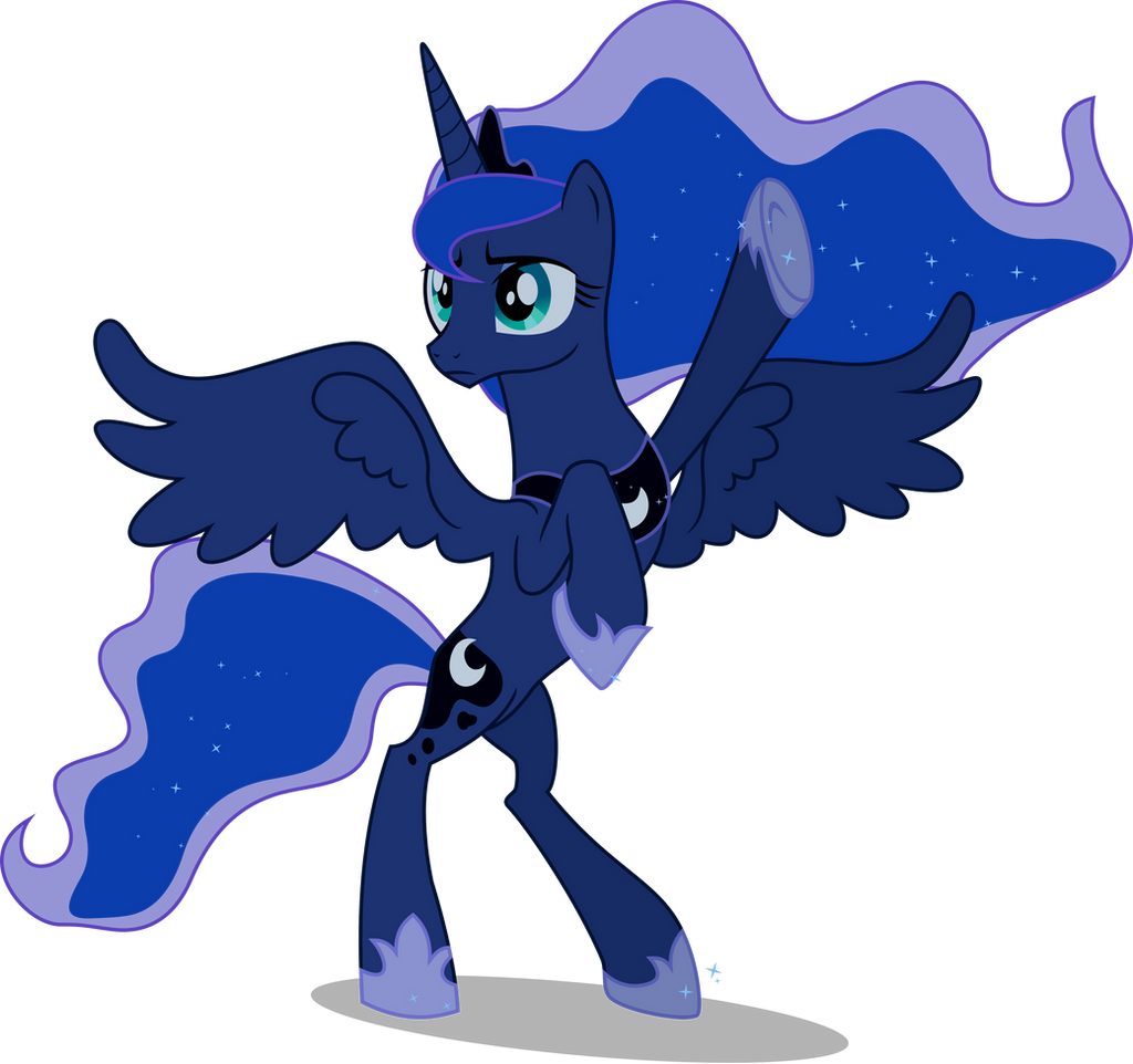 Strike a Pose, Luna by JordiLa-Forge