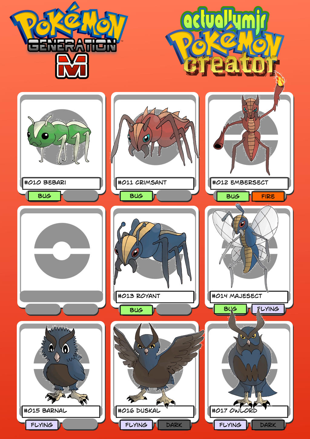 Photo Collection Fakemon For Gen 8