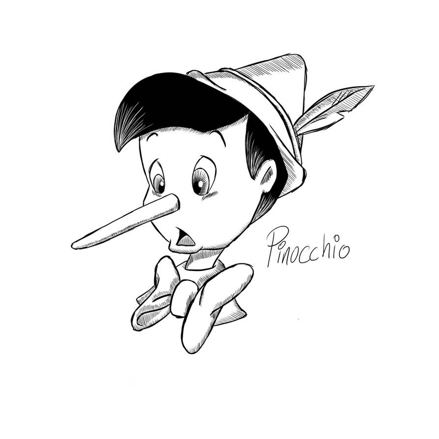 Pinocchio Sketch By ActuallyMJR On DeviantArt