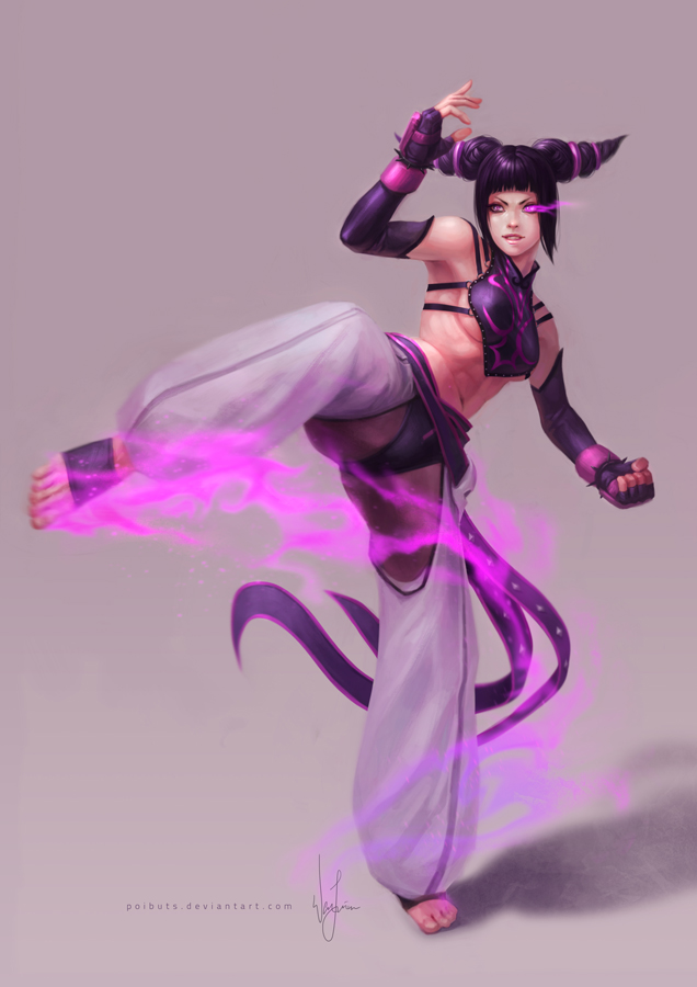 Street Fighter - Juri by poibuts