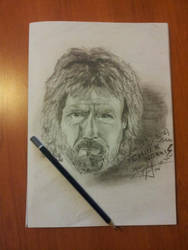 CHUCK NORRIS by Greekpencil69