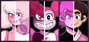 SU: Pink/Black eyes
