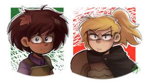 Friends At War!