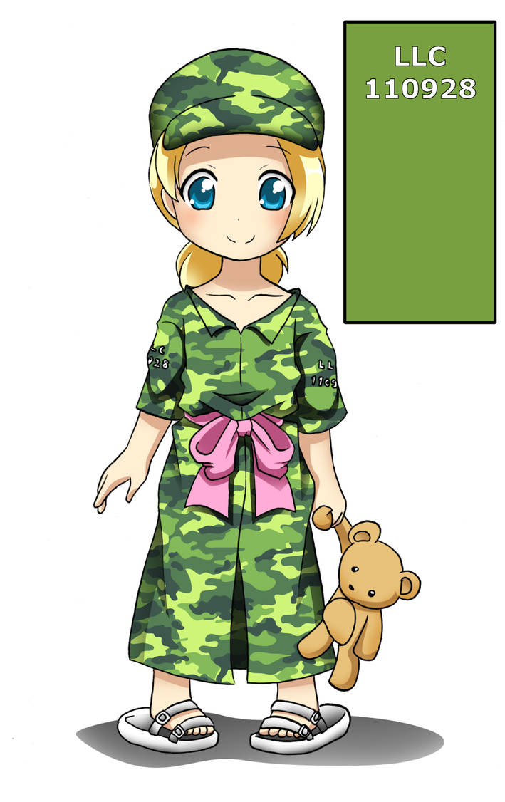 Cadet Louisa, Land Loli Corps by RTCF
