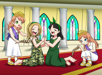 Love and Sara's promotion ceremony by RTCF