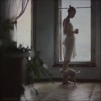 by the window by ankazhuravleva