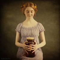 the jar with fireflies by ankazhuravleva