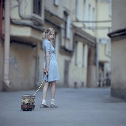 big little girl by ankazhuravleva