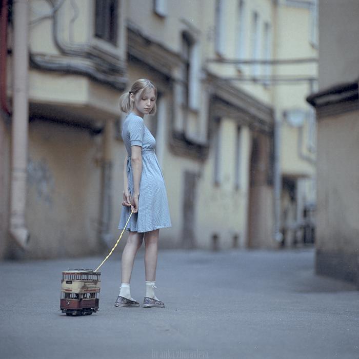 big little girl by belovaan