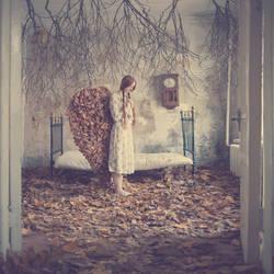 autumn angel by ankazhuravleva