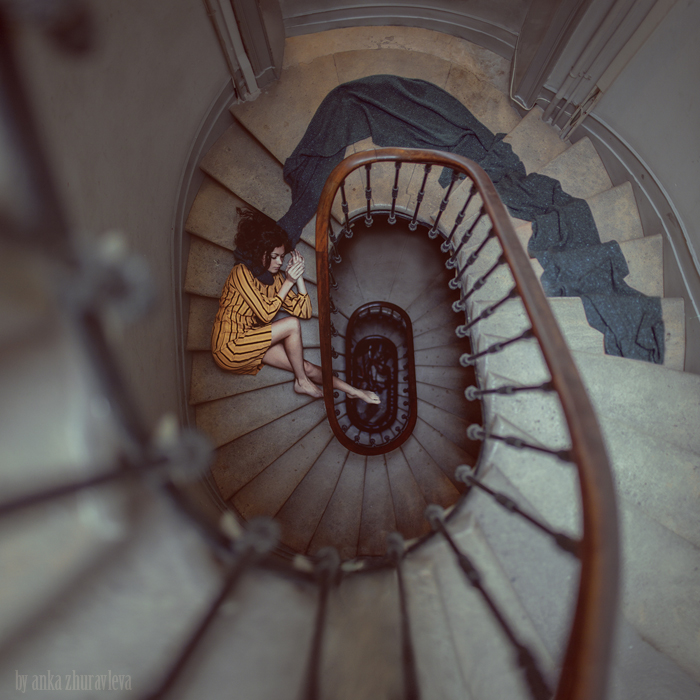 Stair Romance by ankazhuravleva