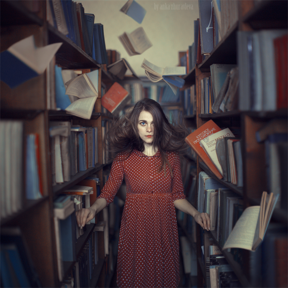 flying books by ankazhuravleva