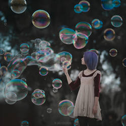 bubbles in Barcelona by ankazhuravleva