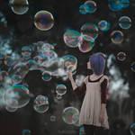 bubbles in Barcelona