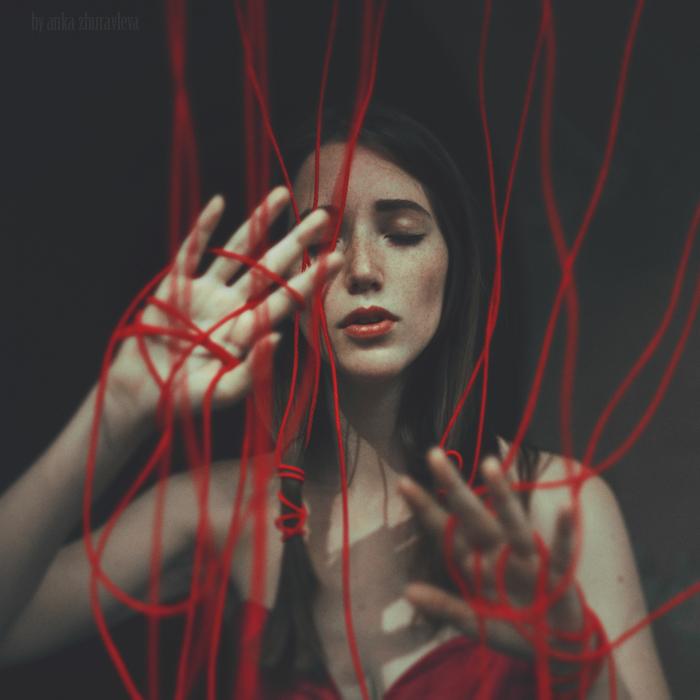red threads by ankazhuravleva