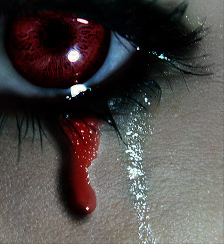 Crying Blood By Fullmoonlover On DeviantArt