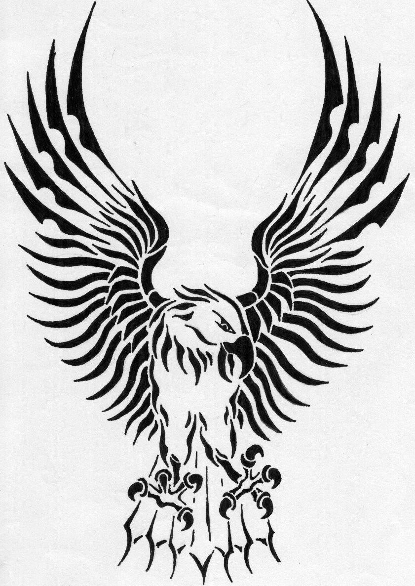 TribaL eAGLE by Raven-The-Mad on DeviantArt