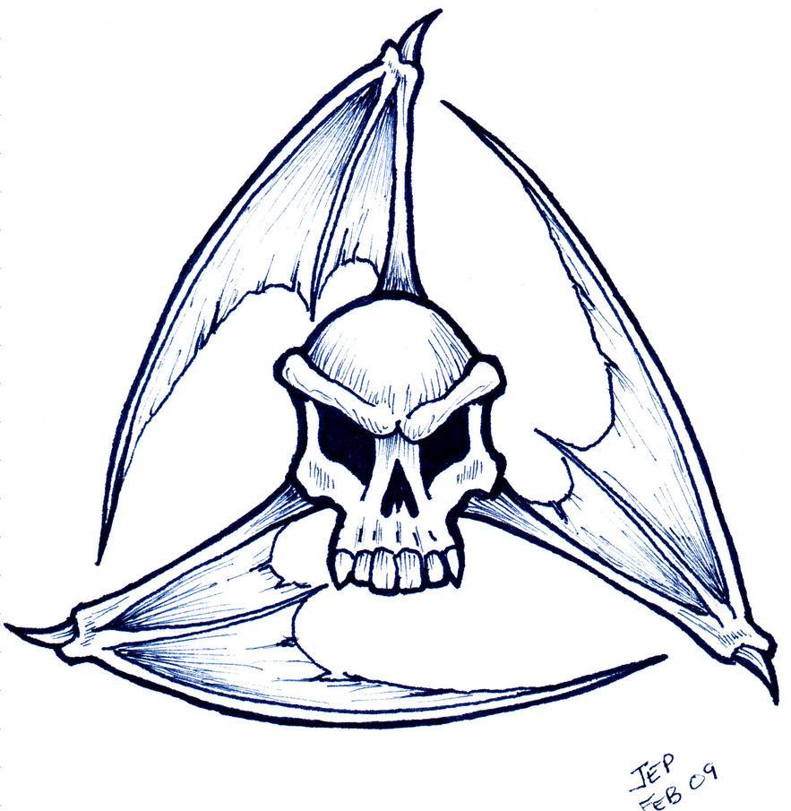 skull tattoo flash by raven the mad on deviantart. Black Bedroom Furniture Sets. Home Design Ideas