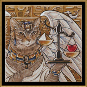 Isis the Egyptian Queen - Large - cross stitch pat