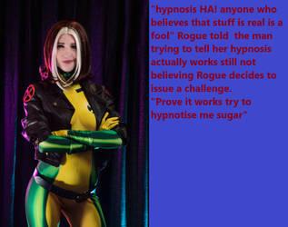 Rogue vs a hypnotist by Ab1nsur