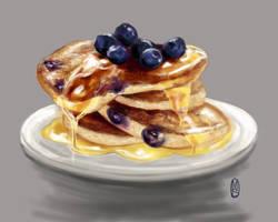 Pancake Study by martinasolari