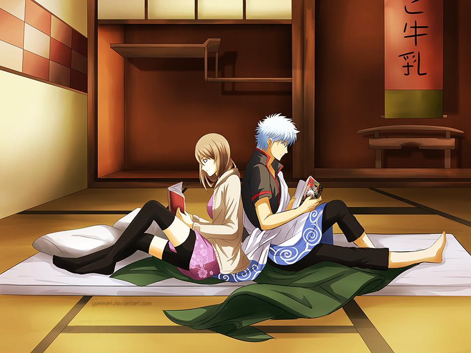 Yuhi and Gin - AT by Yuminari