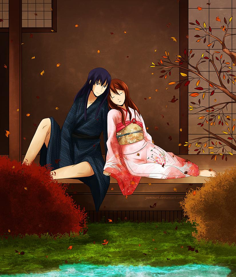 Autumn rest - gift by Yuminari
