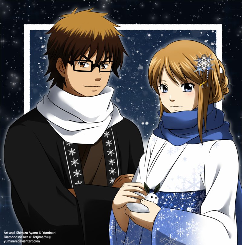 [ENR] Winter Card by Yuminari