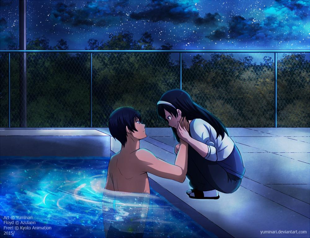 Floyd and Haru - Commission by Yuminari