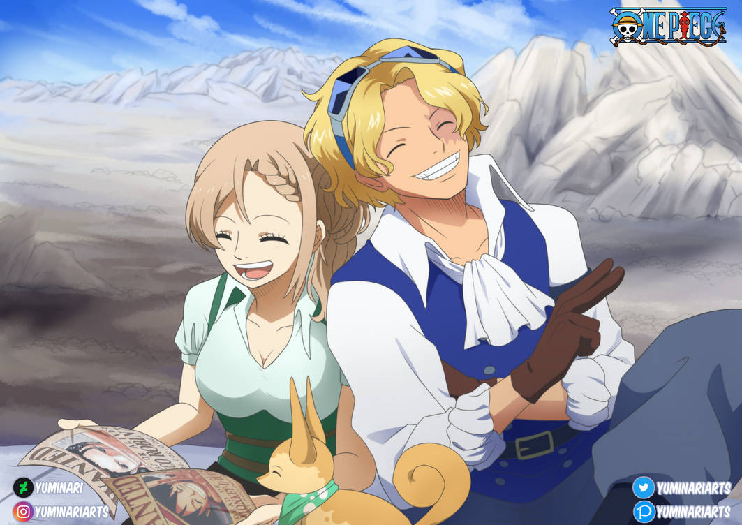 [OP OC x Canon - Eira and Sabo]