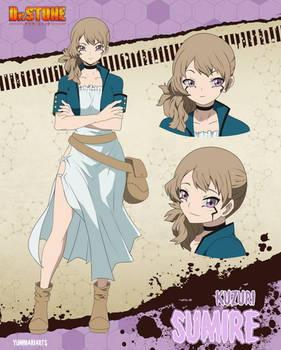 [Dr. Stone character sheet - Sumire Kuzuri]